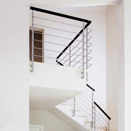 balustrade en verre / d'intérieur / pour escalier