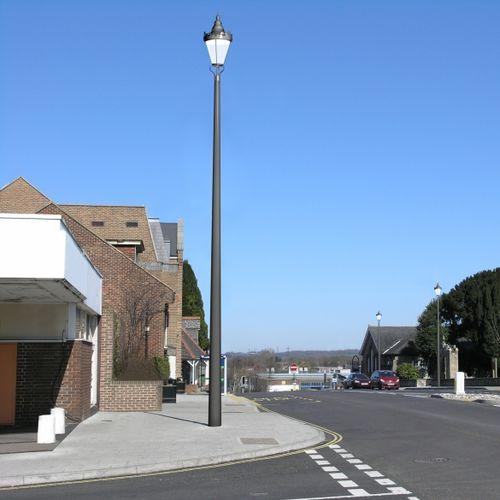 lampadaire urbain / classique / en aluminium / en polycarbonate