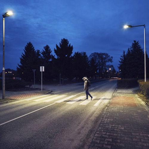 lampadaire urbain / contemporain / en aluminium / DHI