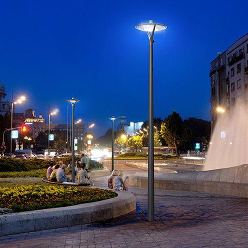 lampadaire urbain / contemporain / en aluminium / en polycarbonate