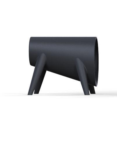 Tabouret design original / en polyéthylène / 100% recyclable / de jardin BUM BUM by Eugeni Quitllet    VONDOM