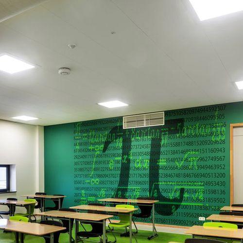 Faux-plafond en laine minérale / en dalles / acoustique / hydrofuge THERMATEX® ALPHA HD Knauf AMF