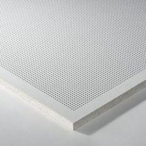 faux-plafond en laine minérale / en métal / en dalles / acoustique
