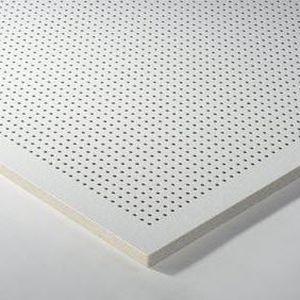 Faux-plafond en laine minérale / en dalles / ignifuge / hydrofuge DESIGN : THERMATEX® SYMETRA RG 4 - 10 Knauf AMF