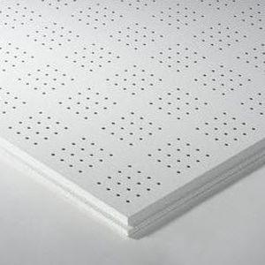 Faux-plafond en laine minérale / en dalles / acoustique / ignifuge DESIGN : THERMATEX® SYMETRA RG 4-16 4X4 Knauf AMF