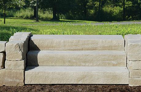 escalier droit marche en bton marche en pierre avec contremarche indiana limestone company - Marche En Pierre Exterieur