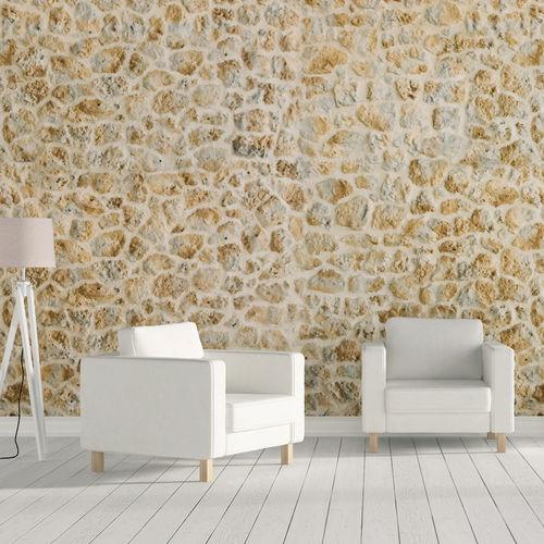 revêtement mural en béton / résidentiel / à relief / aspect pierre