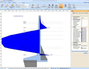 Logiciel de calcul pour murs de soutènement / pour structure béton MDC GEOSTRU