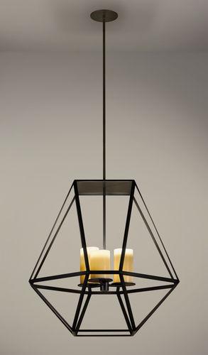 lampe suspension / contemporaine / en métal / fait main