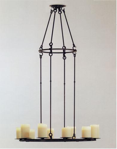 Lustre contemporain / en métal / à incandescence MADIERA Kevin Reilly Collection