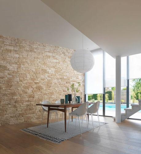 parement en pierre reconstituée / pour intérieur / extérieur