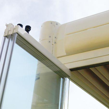 Cloison pliante / en aluminium / vitrée / à usage professionnel SPRECH S.r.l.