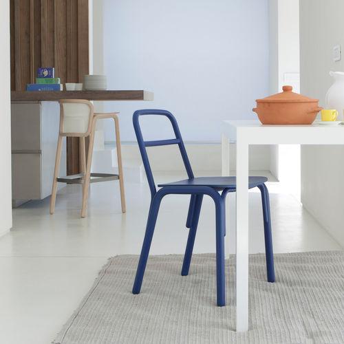 Chaise design scandinave / en bois / professionnelle NENE' by Producks Design TEKHNE S.r.l.