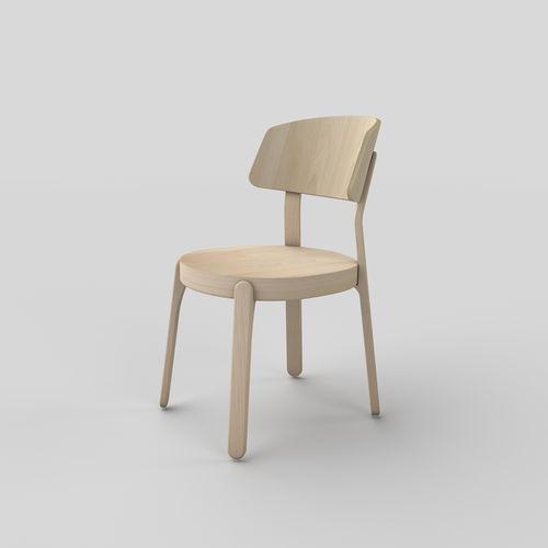 Chaise design scandinave / en bois POPSICLE : 151 by Markus Johansson TEKHNE S.r.l.