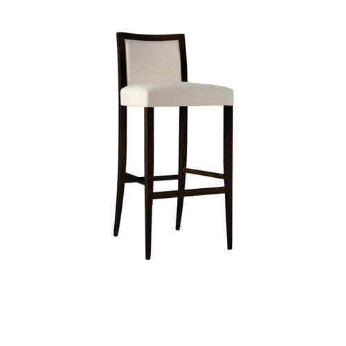 Chaise de bar contemporaine / tapissée / en bois PROJECT : 871 by Claudio Perin TEKHNE S.r.l.