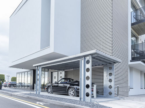 ascenseur hydraulique / pour voiture