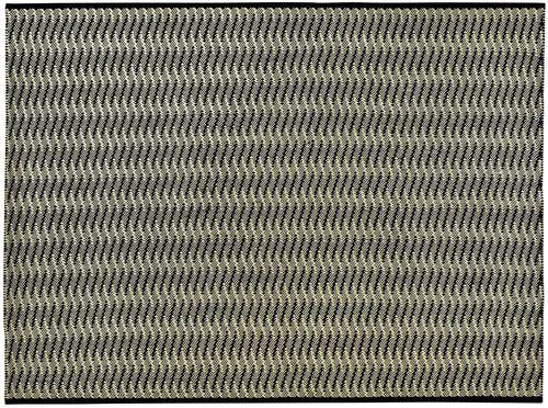 tapis contemporain / à rayures / en polypropylène / rectangulaire