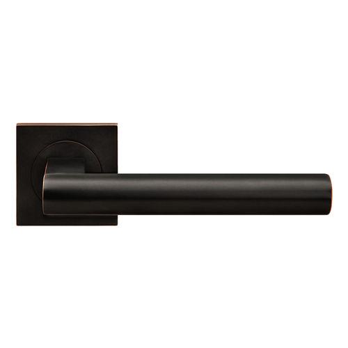 poignée de porte / en bronze / en inox / contemporaine