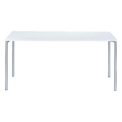 Table de travail contemporaine / en acier / rectangulaire / pour établissement public 4095 BRUNE Sitzmöbel GmbH