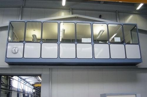 bâtiment modulaire / préfabriqué / à usage industriel / professionnel
