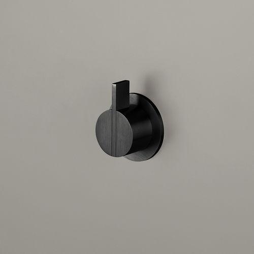 mitigeur pour lavabo / de douche / mural / en inox