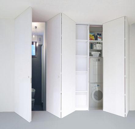 porte d'intérieur / pour placard / pour dressing / pliante