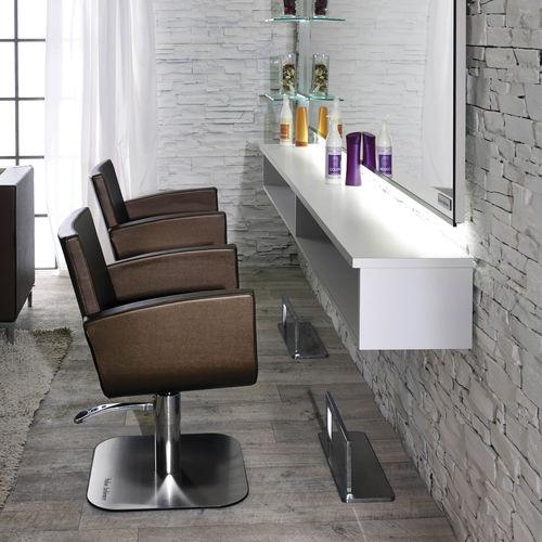 fauteuil de coiffure en simili cuir - Salon Ambience
