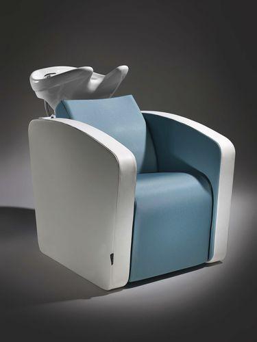 bac à shampoing avec repose-pieds - Salon Ambience