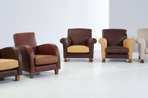 fauteuil classique / en cuir / pour enfant