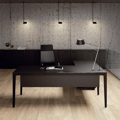 Bureau de direction / en aluminium / contemporain / à usage professionnel ALPLUS by Marco Zito Frezza