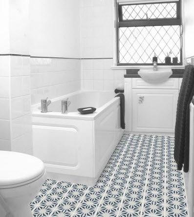 Carrelage d\'intérieur / de salle de bain / de sol / en ciment ...