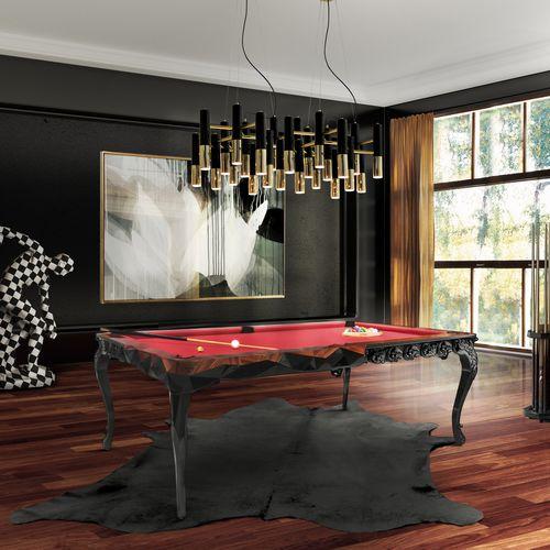 table de billard design nouveau baroque / professionnelle