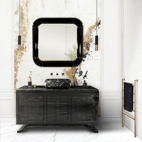miroir mural / de salon / de chambre à coucher / contemporain