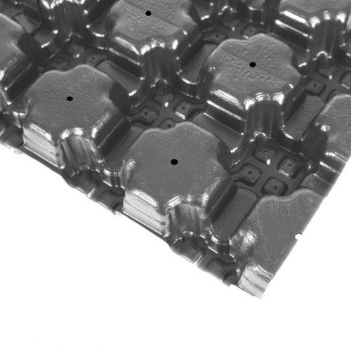 nappe drainante en polyoléfine / drainage de toit végétal / pour toiture végétalisée