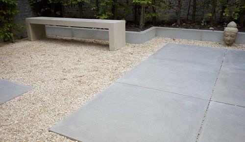 Bordure de jardin / en béton / linéaire SMOOTH GREY VELVET Stone & Style