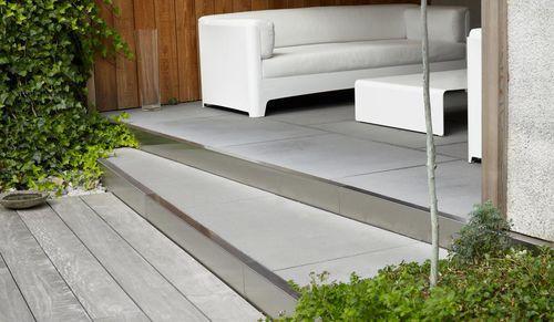 bordure de jardin / en pierre / linéaire