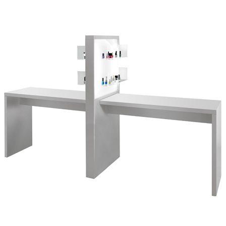 table de manucure avec aspirateur - Medical & Beauty