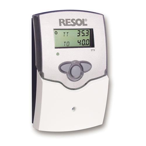 thermostat d'ambiance / numérique / mural / pour chauffage