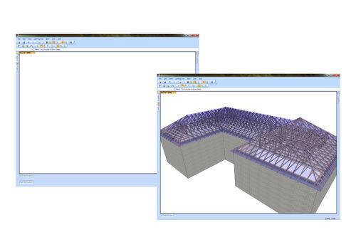 logiciel de calcul / de dessin / pour structure en bois / 2D