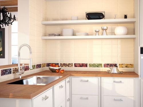 carrelage de salle de bain / de cuisine / de sol / en céramique