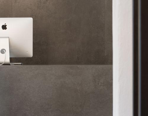 Panneau décoratif en céramique / pour agencement intérieur / antibactérien / poli FOKOS LAMINAM