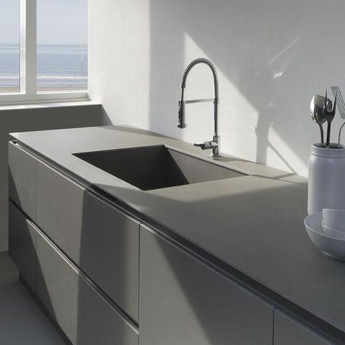 plan de travail en céramique / d'extérieur / résistant à la chaleur / antitache