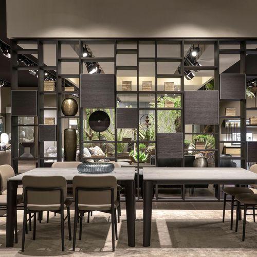 panneau décoratif d'ameublement / en céramique / pour agencement intérieur / pour aménagement extérieur