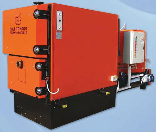 chaudière à bois / à granulés / multicombustible / industrielle
