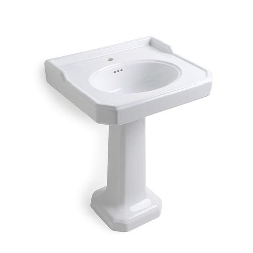 vasque sur pied - BLEU PROVENCE