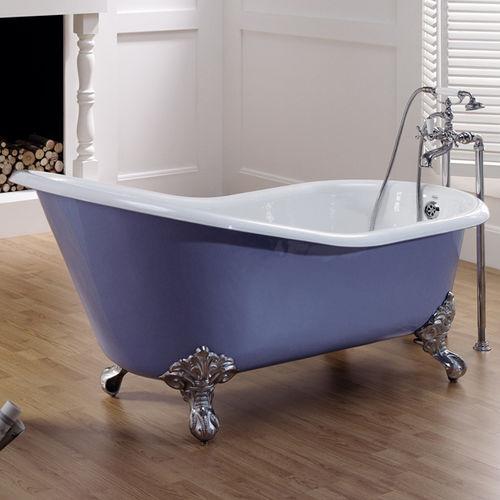 baignoire sur pieds - BLEU PROVENCE