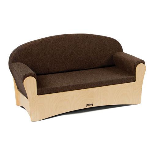 canapé contemporain / contreplaqué / en tissu / pour crèche