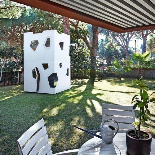 cabane pour enfant pour intérieur / de jardin / au sol / étanche