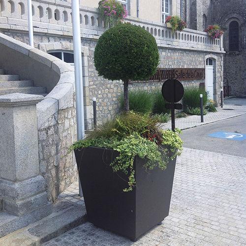 jardinière en acier corten - ATECH