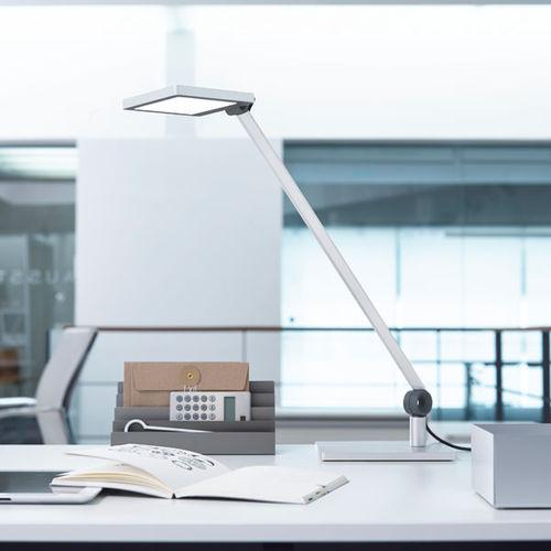 lampe de bureau / contemporaine / en aluminium / à bras articulé